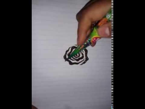 Rose Flower Henna Tutorial Youtube