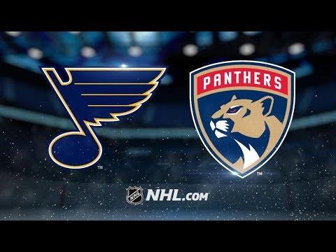 St. Louis Blues Vs. Florida Panthers | NHL Game Recap | October 12, 2017 | HD