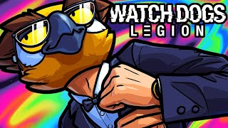 Watch Dogs Legion Funny Moments - Eagle Dive Like A Boss!