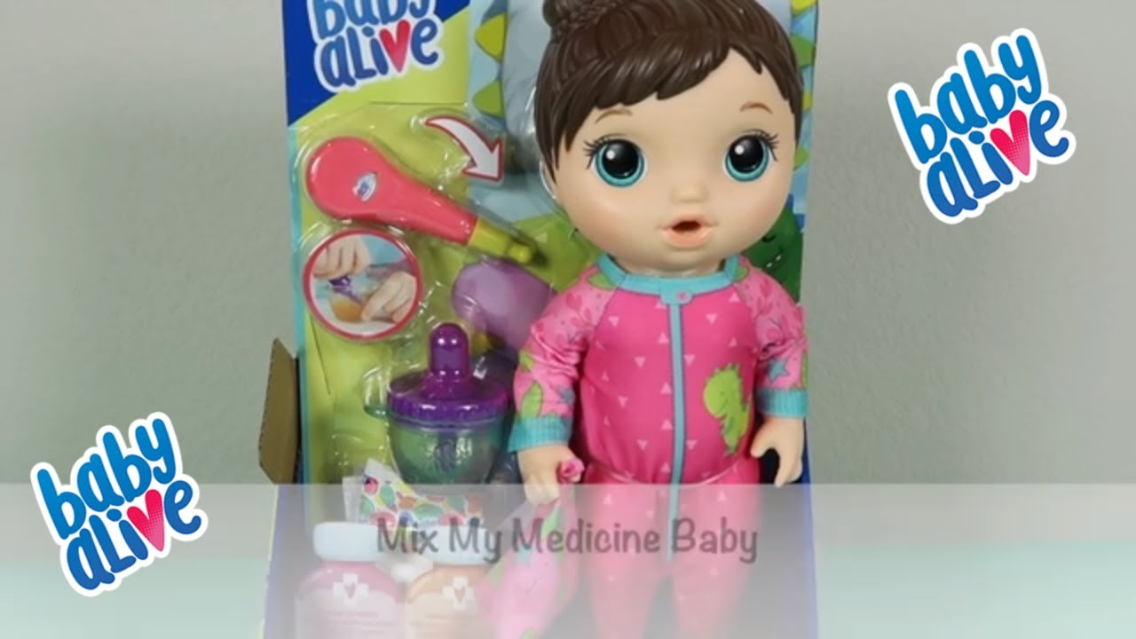 NEW Baby Alive MIX LA MIA MEDICINA Baby