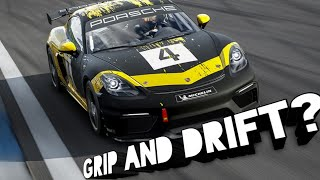 F7 New Free Porsche GT4 Race car CAN IT DRIFT / Fanatec wheel cam /