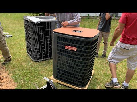HVAC Install | 2.5-Ton 14 Seer Goodman Heat Pump