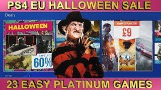 PS4 [EU] Halloween Sale | Games under £9/€10 | Easy Platinum Games 03.11.2018