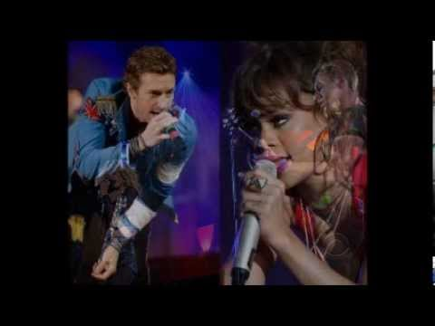 Grammy 2012 - Rihanna ft. Coldplay We found love......wmv