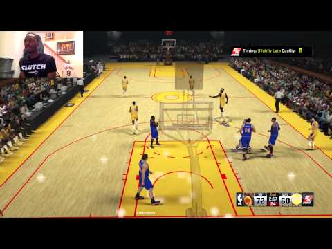 Can Clutch Recreate Wilt Chamberlain's 100 Point Game!? Live Commentary - NBA2K15 Gameplay