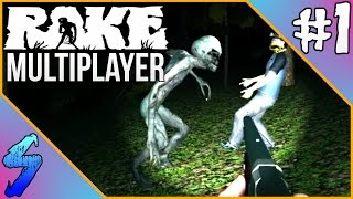 RAKE Multiplayer Gameplay | SO MANY BIG SCARES!! | PART 1
