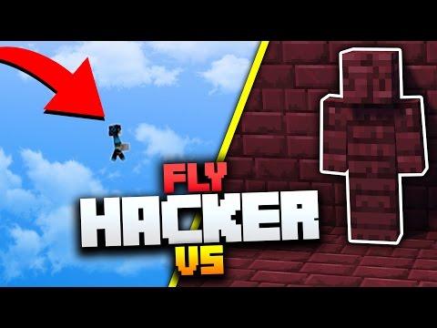 I AM STONE CHALLENGE vs FLY HACKERS! | Minecraft MONEY WARS