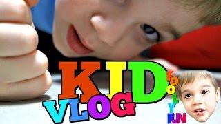 VLOG FOR KIDS: Let's Build Something! Wooden Blocks and Shapes!