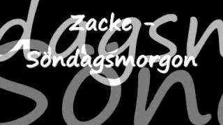 Zacke - Söndagsmorgon