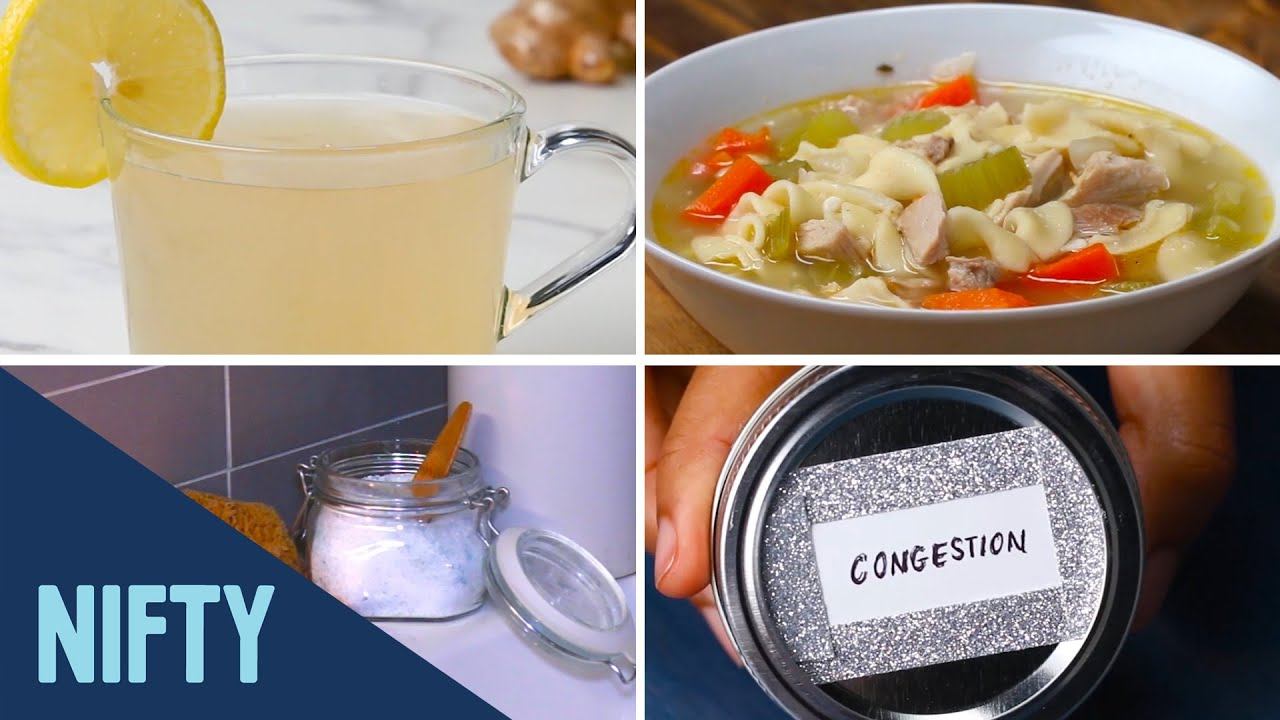 7 Home Remedies For A Cold