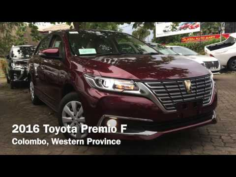 2016 Toyota Premio F Startup and Review
