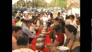 Laos New Year 2013 at Lao American Buddhist Center. (Part-1B of 5)