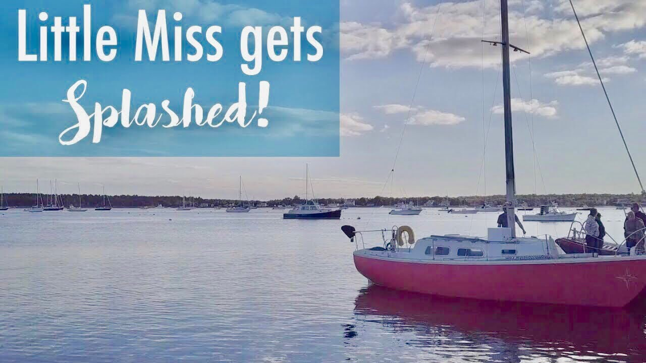That nerve wracking SPLASH!   S8E10 by GoSea Sailing