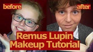 Remus Lupin Cosplay Makeup Tutorial!