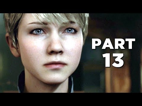DETROIT BECOME HUMAN Walkthrough Gameplay Part 13  ZLATKO PS4 Pro