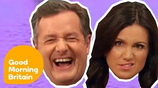 Top Ten Piers Morgan And Susanna Reid Moments! | Good Morning Britain
