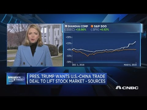 Sources: U S -China trade talks in 'final stages'