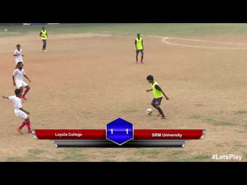RFYS: Chennai College Boys - Loyola College vs SRM University Highlights