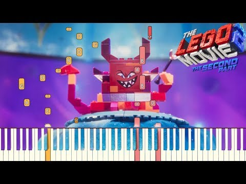 Not Evil - The LEGO Movie 2: The Second Part | Piano Tutorial (Synthesia)