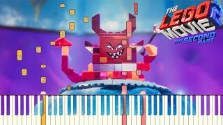 Not Evil The LEGO Movie 2 The Second Part Piano Tutorial Synthesia.mp3