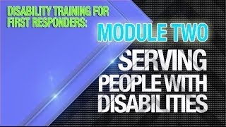 Module 2: Blind/visual Impairments And Service Animals
