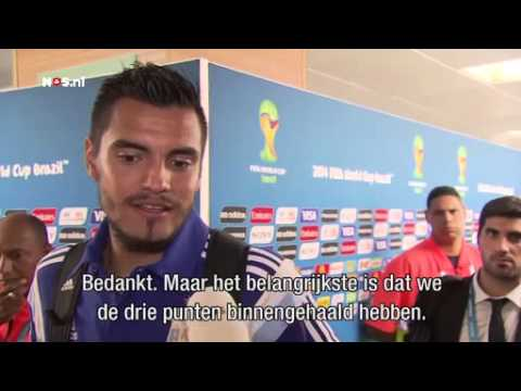 Romero sprak even met Medunjanin | WK Voetbal 2014