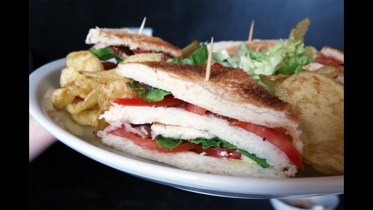 Recette du club sandwich la cuisine de monica youtube for La cuisine de monica