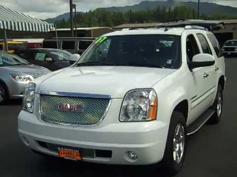 2007 Gmc Yukon Denali Awd White Enumclaw Seattle Puyallup Tacoma