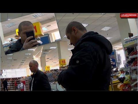 Съемка в супермаркетах...