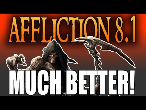 MUCH BETTER 8.1! | AFFLICTION WARLOCK BFA PVP | Battle for Azeroth 8.1