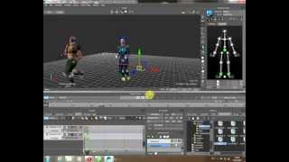 Motionbuilder базовый курс на РУССКОМ ЯЗЫКЕ! Урок 8 -- Анимация 2-х персонажей