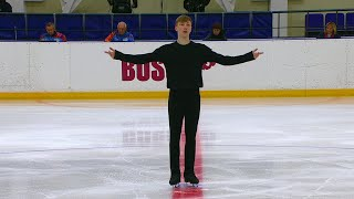 Егор Мурашов Произвольная программа Мужчины Кубок России по фигурному катанию 2020 21