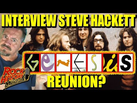 """We Asked Steve Hackett """"That Genesis Reunion Is Never Going To Happen  Right?"""""""