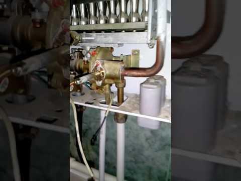 Как сделать, чтобы газовая колонка работала от сети, без замены батареек.