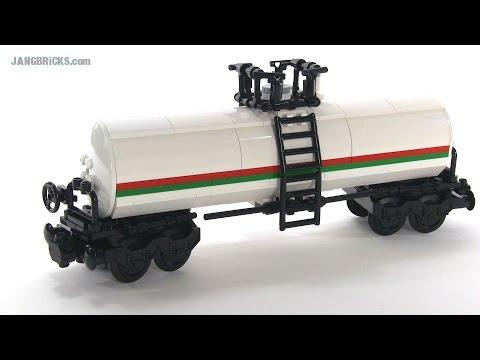 LEGO train Tank Car custom MOC