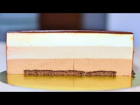 Торт суфле под мастику