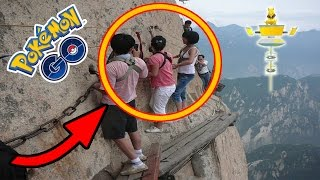 7 Most Dangerous Pokemon Go Gyms In The World
