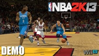 NBA 2K13 Demo Gameplay   WiiU
