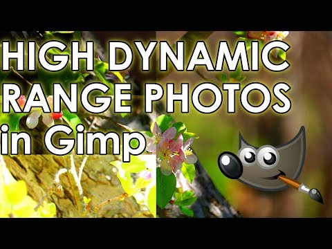 High Dynamic Range (HDR) Imaging With GIMP (Tutorial) - Works with 2.10 too!
