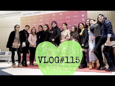 VLOG#115: YouTubers in Korea + New Hotel! (Nov 6, 2017) | Anna Cay ♥