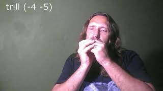 Блюз для губной гармошки С, табы \ Blues for Harmonica C, tabs