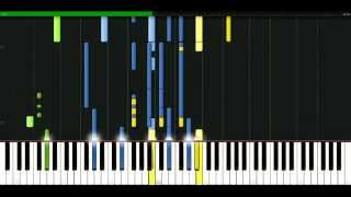 Enrique Iglesias - Escape [Piano Tutorial] Synthesia | passkeypiano