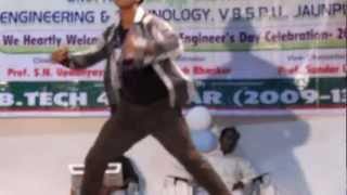 purvanchal university dil na diya dance by arjun part1