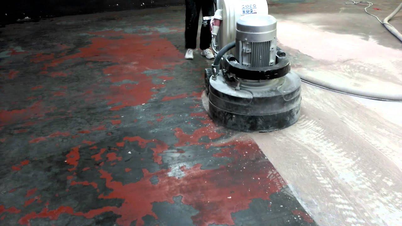 Quitar pintura antigua del pavimento youtube - Quitar pintura de pared ...