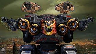 MRK II Ember/Halo Natasha Obliterating Everything | 1.35 Million Damage - War Machine | War Robots