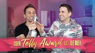 Our Telly Award has arrived!
