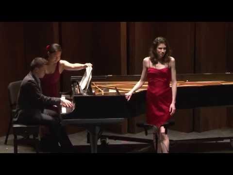 Ravel, Shéhérazade--mezzo-soprano Shawn Palmer
