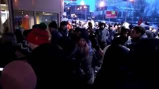 Заканчивается эвакуация в Ауре 16 февраля 2019 года