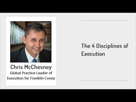 ExecuNet - The 4 Disciplines of Execution
