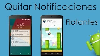 Desactivar Las Notificaciones Flotantes de Android Lollipop